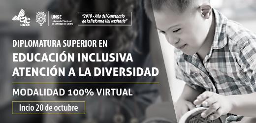 En octubre inicia nueva cohorte de la Dip. en Educación Inclusiva-Atención a la Diversidad