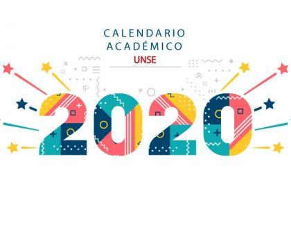 Calendario Académico 2020 - UNSE