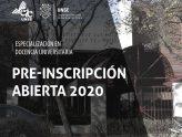 Inscripción abierta a la Especialización en Docencia Universitaria