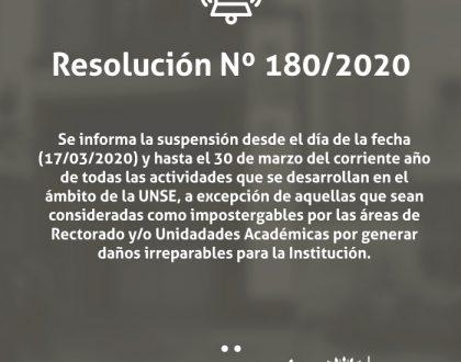 Res. N° 180/2020