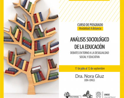 La Dra. Nora Gluz dictará un curso de posgrado