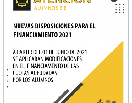 Información sobre financiación - 2021