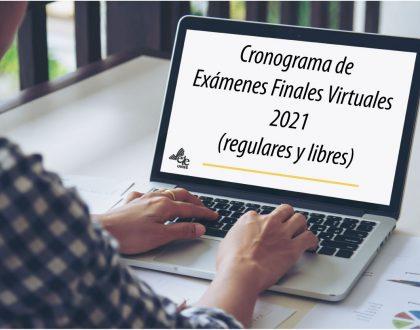 Turnos de exámenes finales virtuales