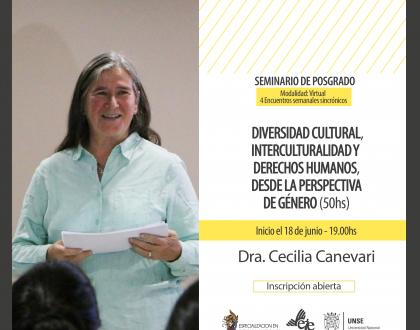 """Seminario """"Diversidad Cultural, Interculturalidad y Derechos Humanos con Enfoque de Género"""""""